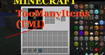TooManyItems has access to spawners, providing a favorites list to store the items/Ph.azminecraft