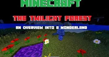 twilight forest mod preview