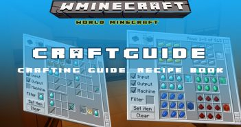 Crafting guide mod preview