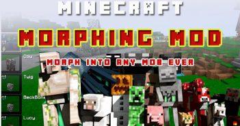 Morph mod minecraft review