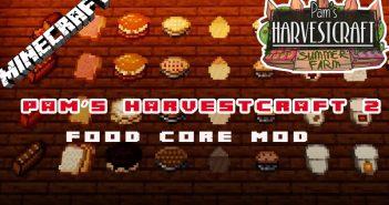 Pam harvestcraft food mod