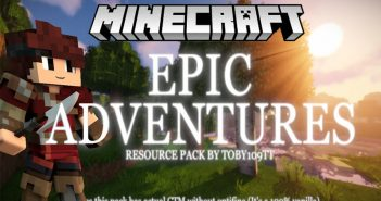 Epic Adventure- an interesting and authentic resource pack/