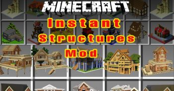 Start with Instant structures mod