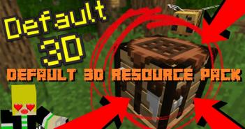 Default 3D Resource Pack