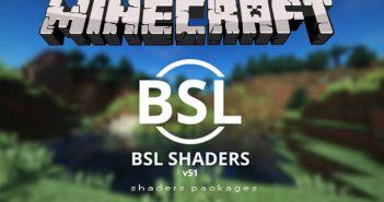 bsl shaders mod minecraft logo