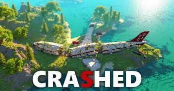 Crashed Minecraft Map