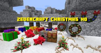 Zedercraft Christmas HD Resource Pack1