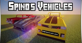 spinos vehicles mod logo