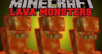 Lava Monsters Mod 1