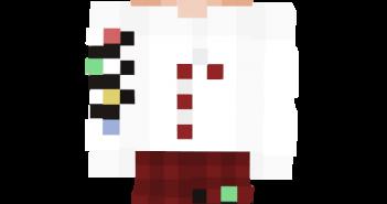 christmas boy pajamas skin 1