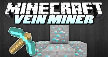 vein miner mod 1