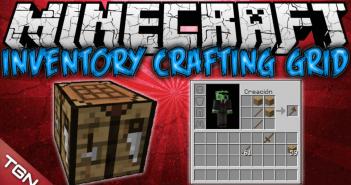 Inventory Crafting Grid Mod 1
