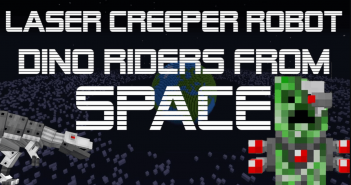 Laser Creeper Robot Dino Riders From Space Mod 1
