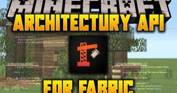 Architectury API Fabric mod for minecraft logo