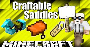 Craftable Saddles Mod 1