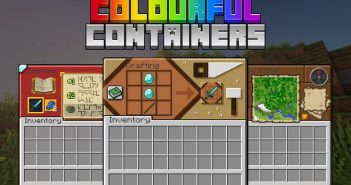 Colourful Containers GUI Resource Pack 1