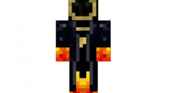Black mage skin