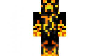 Fire creeper skin