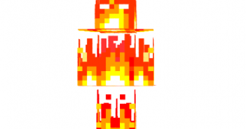 Fire herobrine skin