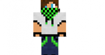 Green creeper boy skin