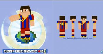 Messi Skin