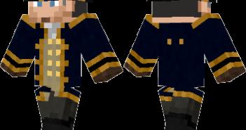 Navy Captain Skin