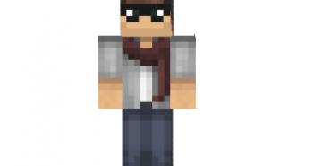 Scarf guy skin