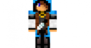 Aqua archer girl skin