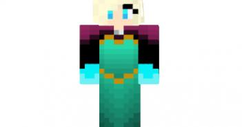 Elsa coronation frozen skin